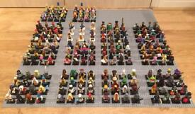 Huge collection of Lego Minifigures series 5-15 including Lego Team GB, Lego Simpsons, Lego Movie