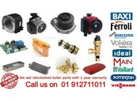 BOILER PARTS / SPARES REFURBISHED FOR SALE PRICES VARY