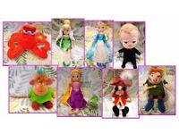 Disney soft plush toys dolls