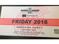 Goodwood Festival of Speed - Friday 13 July x 1 ticket