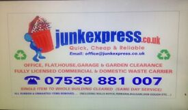 FAST RUBBISH REMOVAL,HOUSE-OFFICE-GARAGE-GARDEN-SHED CLEARANCE,WASTE DISPOSAL,TENANT JUNK COLLECTION