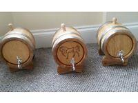 Oak Barrel for Vine Whisky Brand New 5 Liters