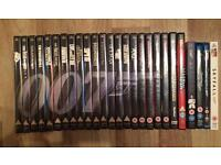 007 Complete DVD Blu-Ray Collection