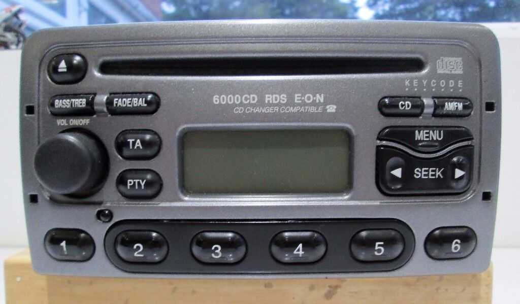 ford car radio stereo cd player 6000cd rds