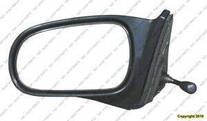 Door Mirror Manual Driver Side Coupe/Hatchback Honda Civic 1996-2000