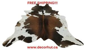 Cowhide Rug Brazilian Hair On Cow Hide Rug Natural Real Cow Skin Free Shipping All Over Nanaimo