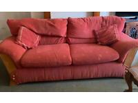 3 piece sofa set ( 3 seaters & 2 armchairs )