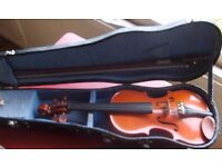 1/16 stentor violin with bow and case