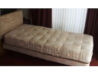 CRAFTMATIC SINGLE ELECTRIC ADJUSTABLE ORTHOPAEDIC BED WITH MATTRESS