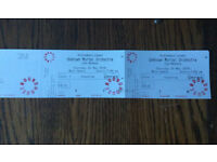 2 x Floor Standing tickets Unknown Mortal Orchestra UMO, Roundhouse, London, Thursday 24/05/18