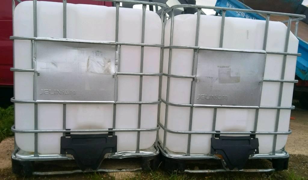 Ibc water storage / liquid, ideal for animals