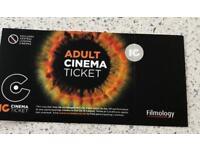 Movie house cinema tickets