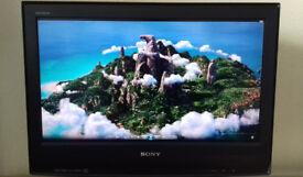 Sony Bravia 26 inch 1080i LCD Digital Tv Television