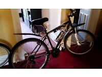 Mountain bike Gents . hardly used ,Great Christmas gift looks brand new