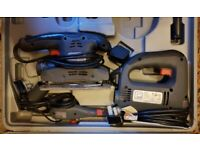 Power Tool Kit & 3 Tool Box's