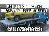 CHEAP HONEST MOBILE MECHANIC AND BREAKDOWN RECOVER SERVICE.