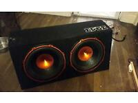 Edge twin sub woofer built in amp