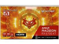 SAPPHIRE Radeon amd RX 6700XT NITRO+ graphic card