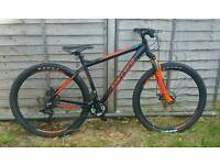 Carrera sulcata 29er Ltd edition mountain bike.