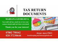 Tax return Self employed for Bulgarian people