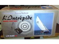 Radio control Transatlantic racing sailboat. 1:25 scale