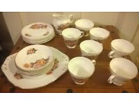Crown Trent - Staffordshire - Fine Bone China Teaset
