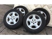 Land Rover freelander alloy wheels