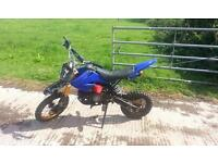 110cc pit bike. cash or swaps. looking for a road legal bike. 50-125cc