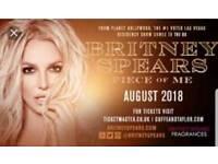3 x Britney Spears tickets London O2