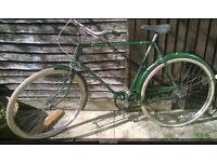 Old raleigh superbe/roadster vintage bike