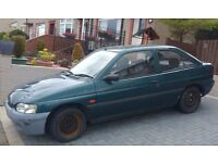 20 years old Ford Escort