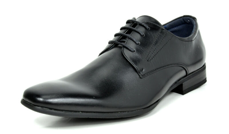 Bruno Marc Mens Leather Oxford Shoes Formal Lace Up Business Dress Shoes Size US