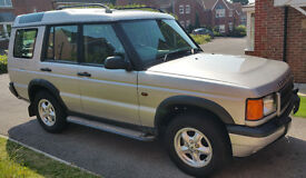 Land Rover Discovery 2 TD5 - 2001 - 7 Seater - Manual Transmission - Diesel