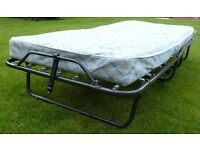 Single fold up bed used only a few times