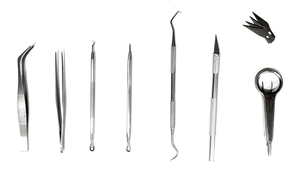 Vinyl Weeding Pick Tools 8 pc Stainless Steel Professional Sign kit  set