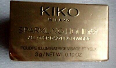 KIKO Milano Sparkling Holiday All Over Dazzling Powder - 3g New
