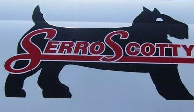 Serro Scotty Campers Large Decal