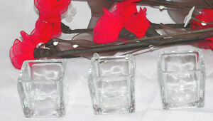 96-Clear-Glass-Tealight-Votive-Candle-5cm-Holder-wedding-table-bomboniere-favour