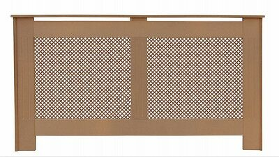 Modern Radiator Cabinet Cover Large Ready to Paint MDF