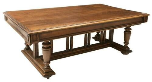 Antique Table, Extension, Renaissance Revival, Walnut,19th C., 1800s, Amazing !!