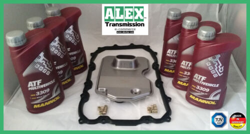 Audi Q7,VW Touareg,Toyota HiLux,Lexus IS,GS,LX filter oil set gearbox 09D,TR60SN