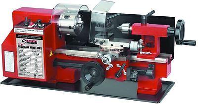 7 In X 10 In Precision Shop Garage Hobby Benchtop Mini Metal Lathe Tool Machine