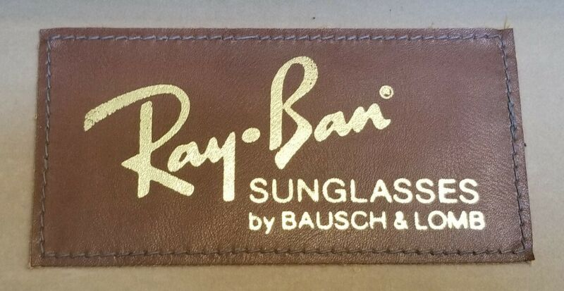 "VINTAGE RAY BAN SUNGLASSES SALESMAN CASE 23"" X 14"" X 9"""