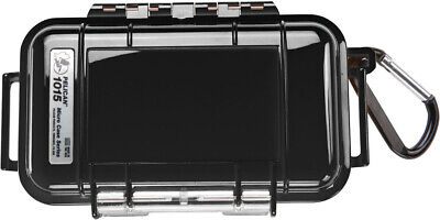 NEW Pelican ™ 1015 Solid Black Micro Case with Free engraved nameplate Pelican Black Micro Case