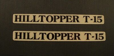 KABUKI Hilltopper T-15 Bicycle Frame Stickers New Old Stock pair for sale  USA
