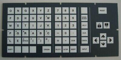 Hitachi Seiki Cnc Keypad Membrane Control Panel Overlay - Hs1005