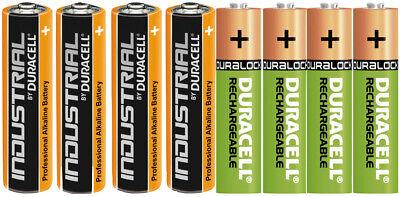 Duracell Power Akkus Accus und Batterien AAA Micro AA Mignon Neuware aus 2019