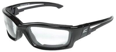 Edge Eyeware Sk111-sp Kazbek Safety Glasses Black Frame