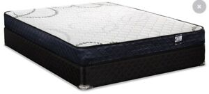 Top end, Pillow top Queen Sized Mattress and Box Spring