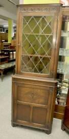 Corner Display Cabinet - Can Deliver For £19